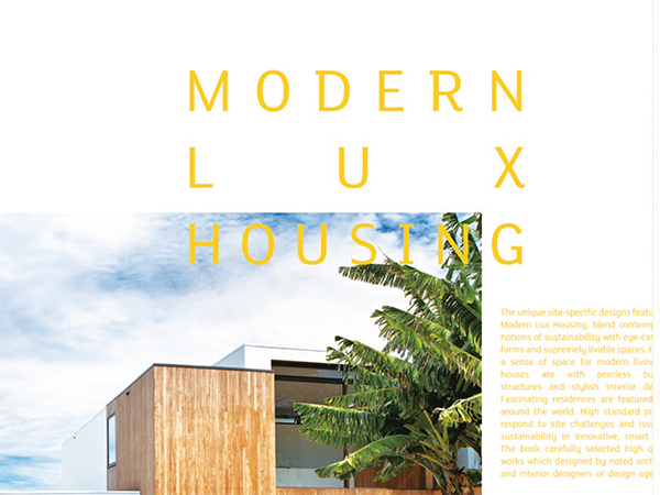 BOEK MODERN LUX HOUSING