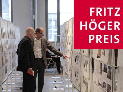 FRITZ HÖGER PRIZE 2014