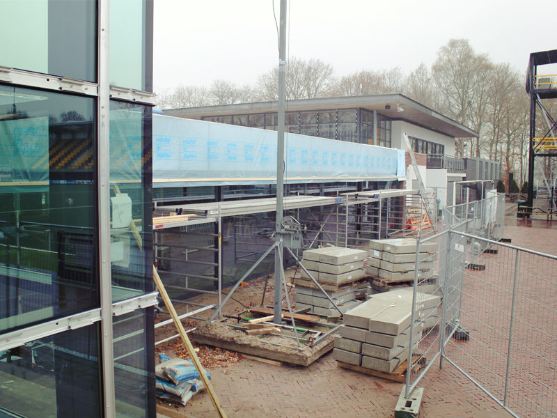 Hockeyclub – bouw update