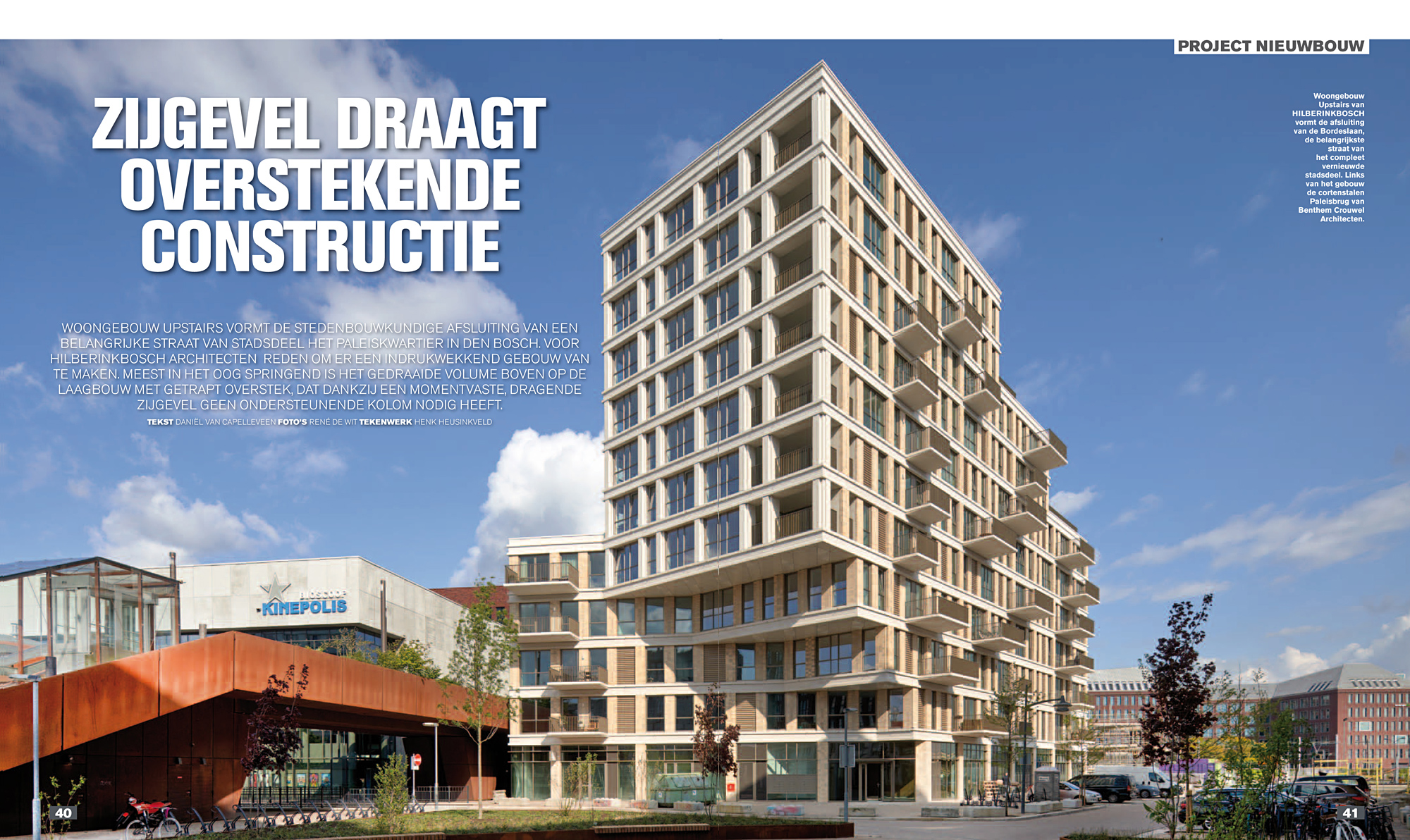 Bouwwereld 02/2021 Upstairs Hilberink Bosch Architecten